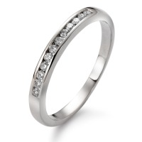 Memory Ring 750/18 K Weissgold Diamant 0.151 ct