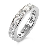 Memory Ring 750/18 K Weissgold Diamant 2.22 ct-558196