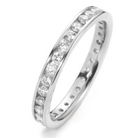 Memory Ring 750/18 K Weissgold Diamant 0.65 ct-558211