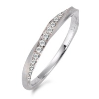 Fingerring 750/18 K Weissgold Diamant 0.157 ct