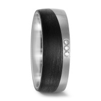 Partnerring Titan, Carbon Diamant 0.03 ct-567667