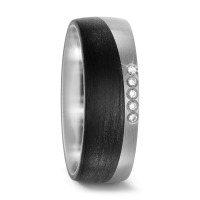 Partnerring Titan, Carbon Diamant 0.05 ct-567668