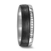 Partnerring Titan, Carbon Diamant 0.11 ct-567686
