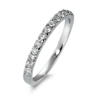 Memory Ring 585/14 K Weissgold Diamant 0.25 ct-570603