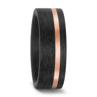 Partnerring 585/14 K Rosegold, Carbon-571406