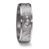 Partnerring Tantal Diamant 0.05 ct-584768