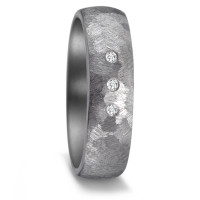 Partnerring Tantal Diamant 0.03 ct-587206