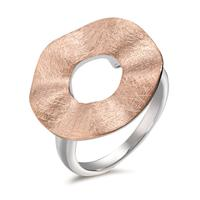 Fingerring Silber rosé bicolor Ø20 mm
