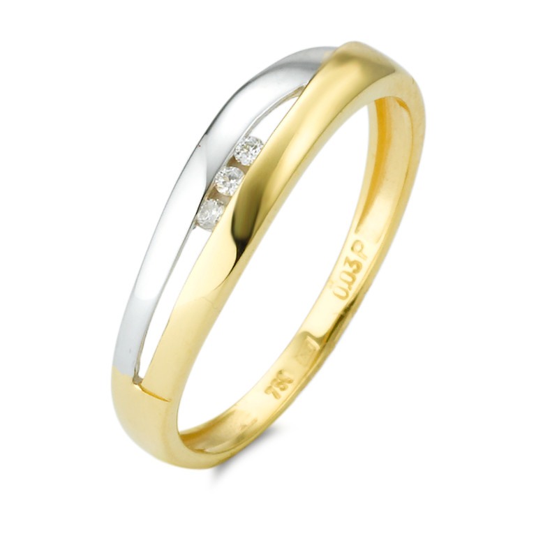 Ring Gold mit Diamant-348219