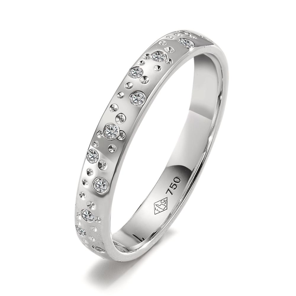 Ring Weissgold 750 Diamante-350526