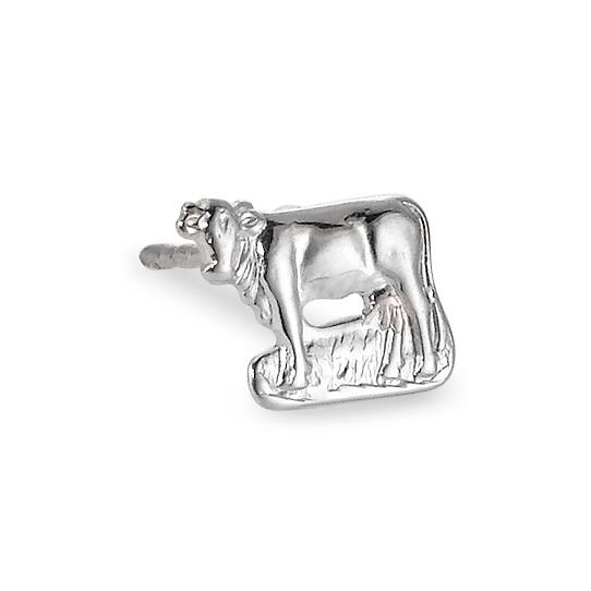 ungleich in der Leistung wie kauft man neues Erscheinungsbild Rhomberg Schmuck: Ohrstecker 1 Stk Silber rhodiniert Kuh